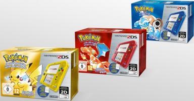2DS transparente bleue, jaune et rouge