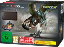 """Console Nintendo 3DS XL bleue édition limitée """"Monster Hunter 3 - Ultimate"""""""