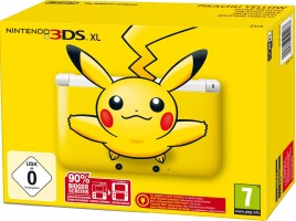 Console Nintendo 3DS XL jaune pikachu