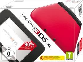 3DS XL rouge & noire