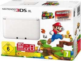 3DS Blanche édition limitée avec Super Mario 3D Land