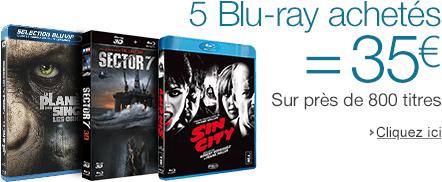 5 Blu-ray achetés = 35€