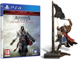 Assassin's Creed : The Ezio Collection (PS4) + Figurine Edward Kenway