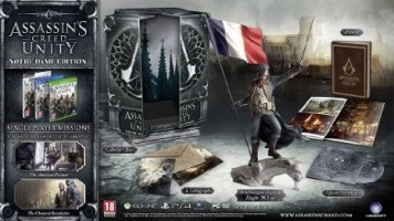 "Assassin's Creed Unity édition collector ""Notre Dame"" (PS4, Xbox One, PC)"