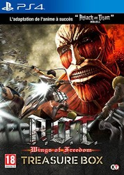 """Attack on Titan : Wings of Freedom édition collector """"Treasure Box"""" (PS4)"""