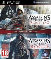 Compilation Assassin's Creed 4 Black Flag + Assassin's Creed Rogue (PS3)