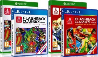 Atari Flashback Classics Volumes 1 et 2 (PS4, Xbox One)