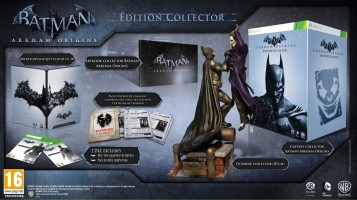 Batman Arkham Origins - édition collector (Xbox 360)