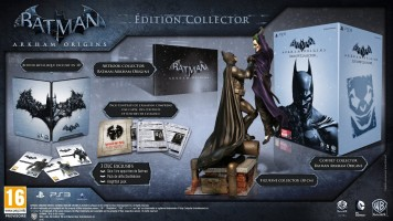 Batman Arkham Origins - édition collector (PS3)