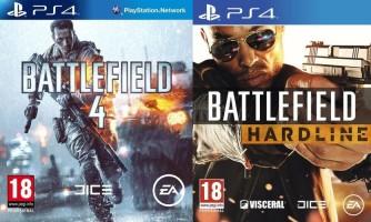 Battlefield 4 + Battlefield : Hardline (PS4)
