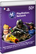 Carte Playstation LiveCard 50€ (PS3)