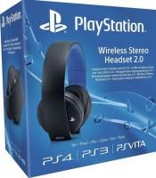 Casque stéréo sans fil PlayStation noir (PS4, PS3, PS Vita, PC)