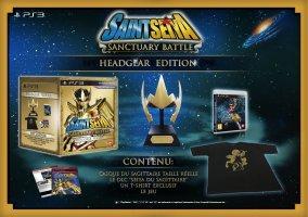 Saint Seiya : les Chevaliers du Zodiaque - la bataille du sanctuaire [édition headgear] (PS3)