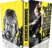 Coffret 4 films de Chuck Norris édition limitée boitier métal (blu-ray)