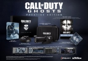 Call of Duty : Ghosts édition prestige (PS3, Xbox 360)