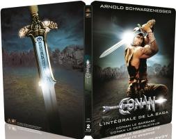 """Intégrale de la saga """"Conan"""" édition limitée boitier métal (blu-ray)"""