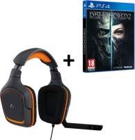 Dishonored 2 + casque Logitech G231 (PS4)
