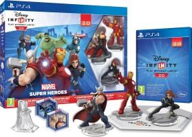 Pack de démarrage Disney Infinity 2.0 : Marvel Super Heroes (PS4)