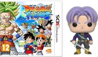 Dragon Ball Fusions (3DS) + Funko Pop Trunks
