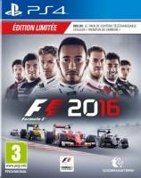 F1 2016 édition limitée (PS4)