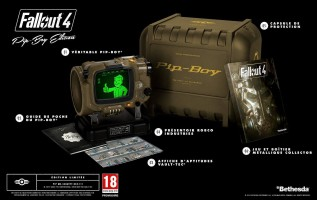 "Fallout 4 édition collector ""Pipboy"" title="