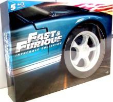 Fast and Furious - L'intégrale 5 films - Edition pneu (Blu-ray)