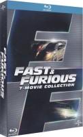 intégrale Fast and Furious 1 à 7 (blu-ray)