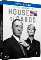 House of Cards - Intégrale saisons 1 et 2 (blu-ray)