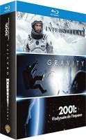 Coffret Interstellar + Gravity + 2001, l'odyssée de l'espace (blu-ray)