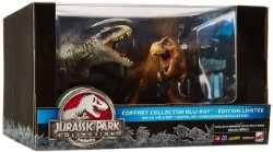 Jurassic Park Collection édition collector 2 dinosaures (blu-ray)