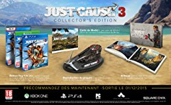 Just Cause 3 édition collector (PS4, Xbox One)