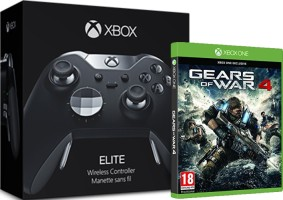 Manette Xbox One Elite + Gears of War 4