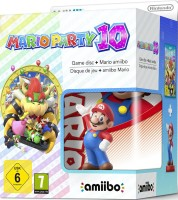 "Mario Party 10 édition limitée avec Amiibo ""Super Mario Bros"" (Wii U)"