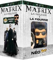 Trilogie Matrix + figurine Pop! Funko (blu-ray + DVD)