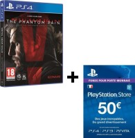 Metal Gear Solid V The Phantom Pain (PS4) + 50€ PSN (PS4, PS3, PS Vita)