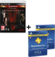 Metal Gear Solid V: The Phantom Pain édition Day One (PS3) + 6 mois de PS+