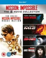 Mission: Impossible - L'intégrale des 5 films (blu-ray)