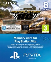 Carte Mémoire 8 Go PS Vita + Motorstorm RC