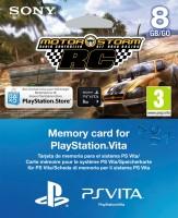 Carte Mémoire 8 Go PS Vita + Motorstorm RC