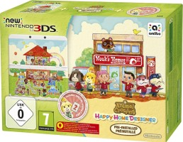 "Console Nintendo New 3DS édition limitée ""Animal Crossing : Happy Home Designer"""