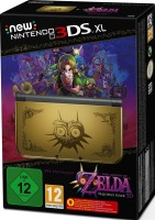 "Console Nintendo New 3DS XL édition limitée ""The Legend of Zelda : Majora's Mask 3D"""