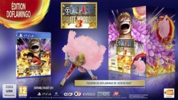 One Piece Pirates Warriors 3 édition collector Doflamingo (PS4)