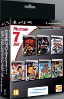 Pack 7 jeux Namco (PS3)