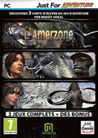 Pack Amerzone + Syberia + Syberia II + bonus (PC)