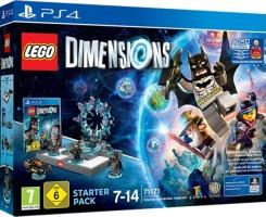 Pack de démarrage Lego Dimensions avec Supergirl (PS4)