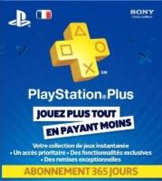 Carte prépayée 1 an de PlayStation+ (PS3, PS Vita)