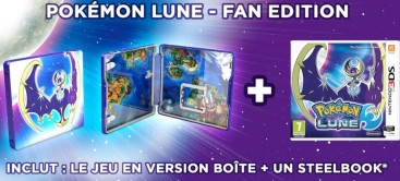 Pokémon Lune édition fan (3DS)