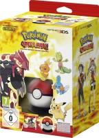 Pokémon Rubis Oméga édition limitée avec Pokéball et poster Pokédex (3DS)
