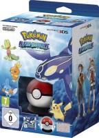 Pokémon Saphir Alpha édition limitée avec Pokéball et poster Pokédex (3DS)