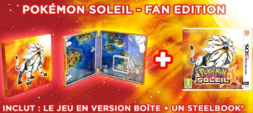 Pokémon Soleil édition fan (3DS)
